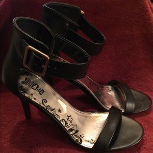 Basic Black Dressy Sandals